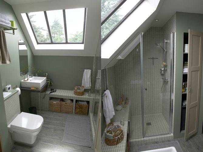 Best 25 second story ideas on pinterest second story for Amenagement petite salle de bain sous comble