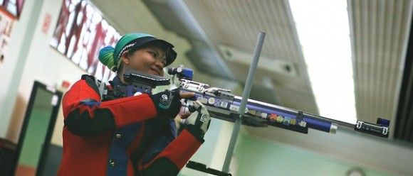 MALAYSIA'S FIRST FEMALE OLYMPIC SHOOTER IS 8-MONTHS PREGNANT AND GUNNING FOR GOLD