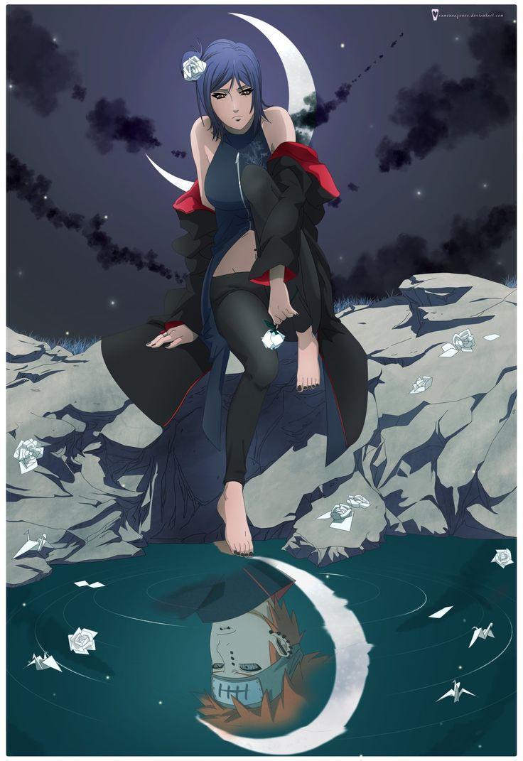 Naruto Shippuden » Fanart » Wallpaper Konan and Pein