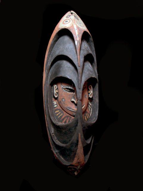 Voorouder geestenmasker - MIDDEN SEPIK - Papoea Nieuw-Guinea