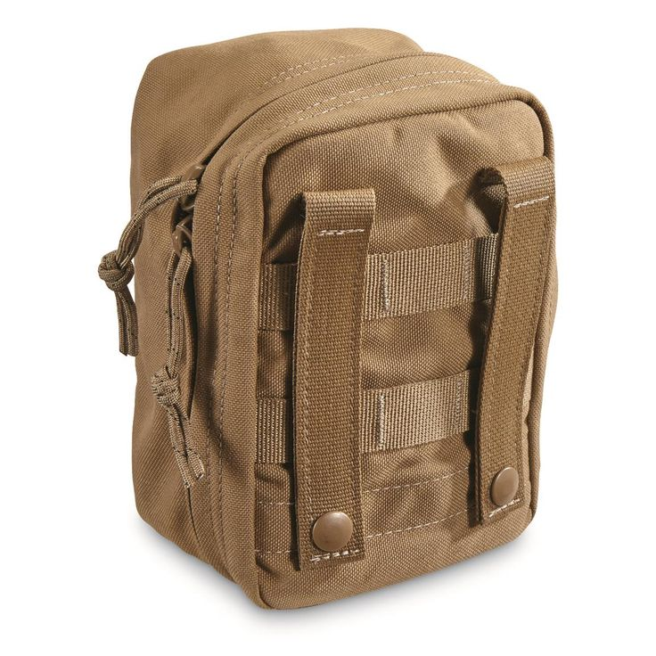 U.S. Military Surplus Tactical Tailor MNVD Padded MOLLE Case, New; Keeps fragile gear safe and sound!