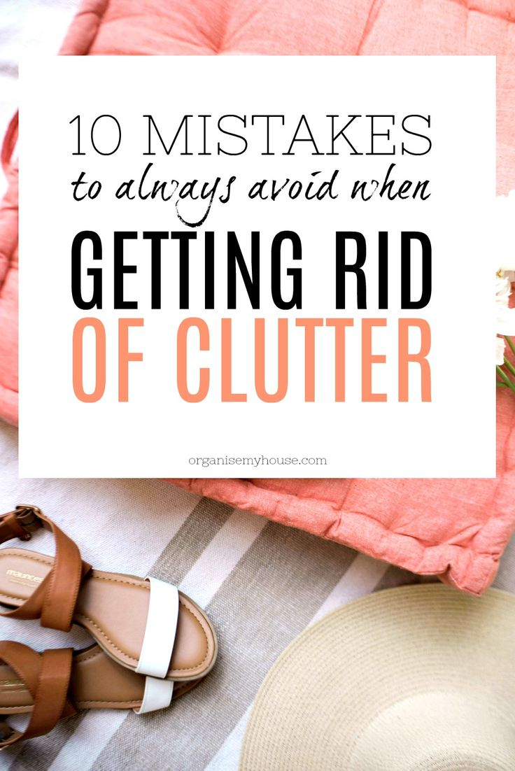 3721 best organizing ideas group board images on pinterest for Best way to get rid of clutter