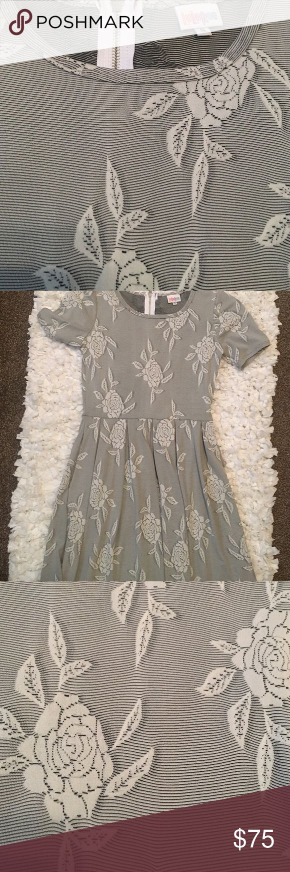 LuLaRoe Amelia LuLaRoe Amelia dress, because of what they take I priced it a bit higher. Worn 1x Difficult pattern to find. LuLaRoe Dresses Midi