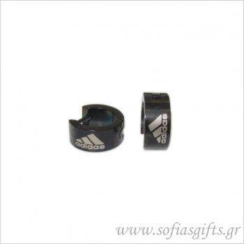 Ανδρικό σκουλαρίκι κρίκος adidas #ανδρικά #σκουλαρικια #andrika #skoularikia #kosmhmata #κοσμηματα