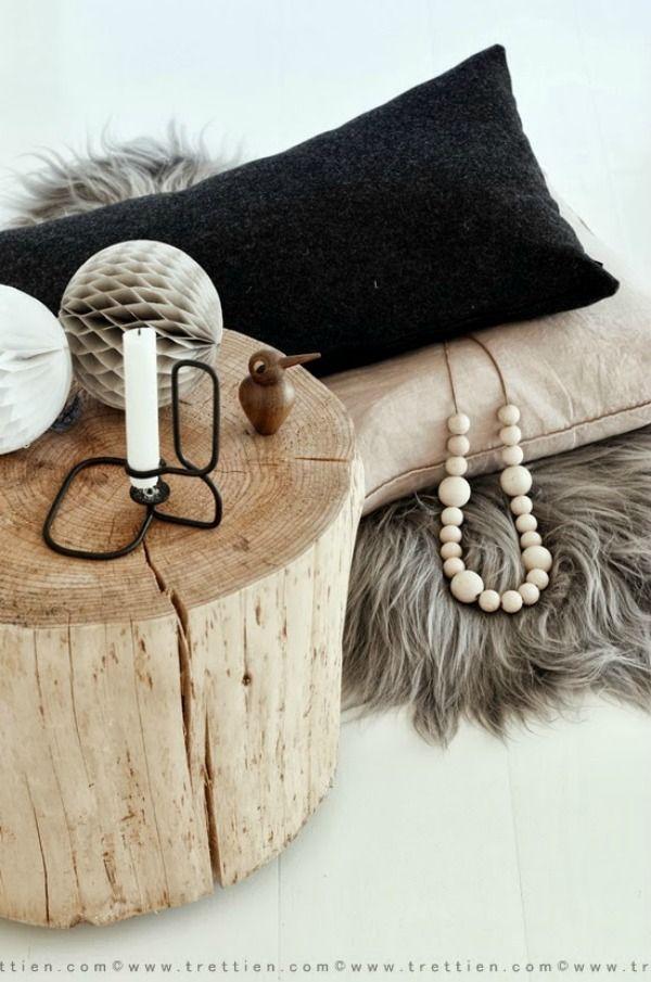 Interieur | Haal de natuur in huis met een boomstam of tak in jouw interieur