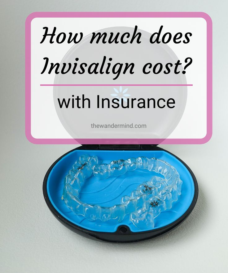 Cost of invisalign with insurance in 2020 invisalign