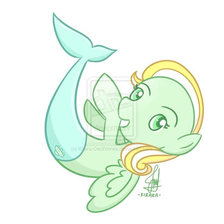 Commission - Martian Mermaid Pony
