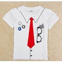 Divertida Playera Camiseta Manga Corta Niño Oficina 5375