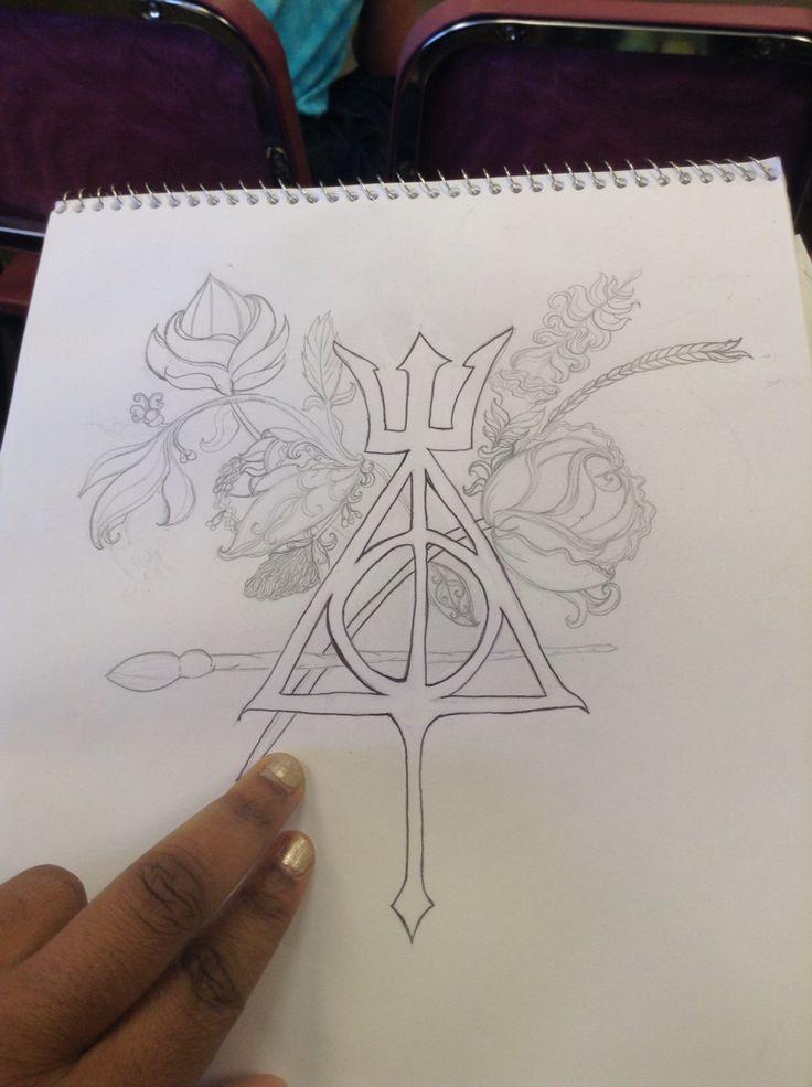 Persy Jackson & Harry Potter symbol combining