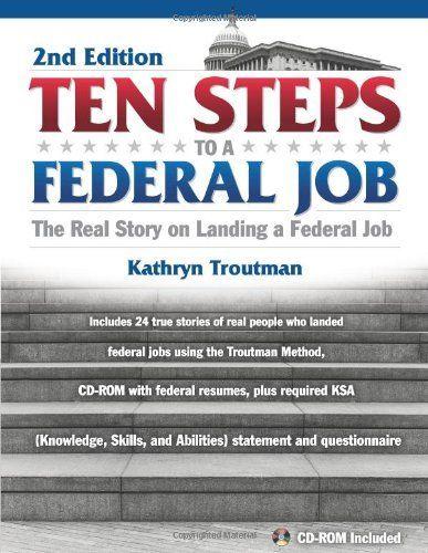 the federal resume guidebook by kathryn troutman kathryn k