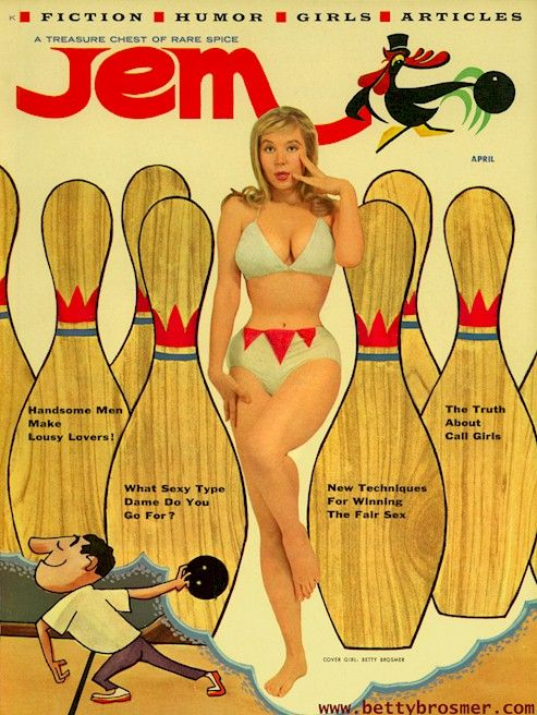 "thegirlcantdance:grottu:cowsinartclass72: "" retrodoll: Betty Brosmer """" """