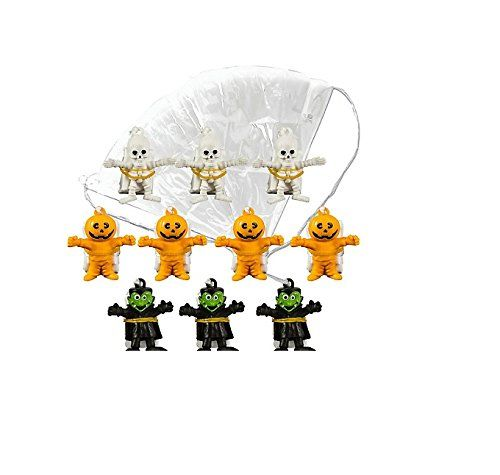 Monster Paratroopers Favor Pack @ niftywarehouse.com #NiftyWarehouse #Halloween #Scary #Fun #Ideas