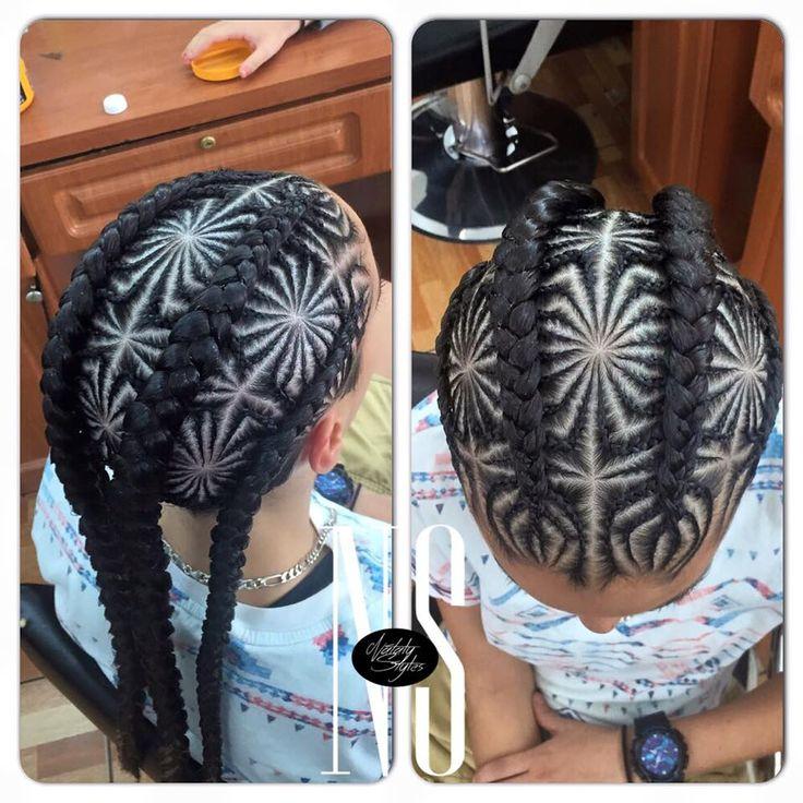 286 - Hair Braid Mandala Miami hair braiding stylist