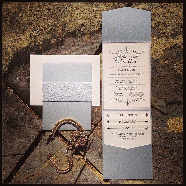 41 best Wedding invitations images on Pinterest Invitation ideas