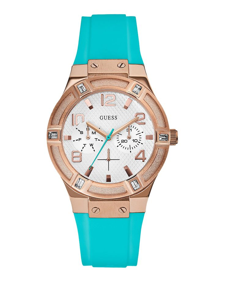 Ρολόι Guess Ladies Multifunction Rose Gold W0564L3