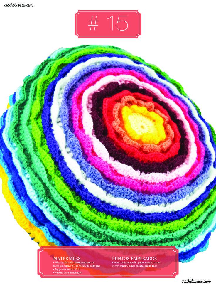 Crochet Almohadones #15