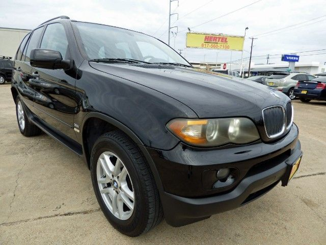 Glimmer Bimmer! Drive Home in This Beautiful Locally Owned Former #CPO 2006 #BMW #X5 3.0i #AWD #SUV with a Panorama Sunroof, Low Miles, & a Clean CARFAX for Only $6,990! -- http://hertelautogroup.com/2006-BMW-X5/Used-SUV/FortWorth-TX/9747953/Details.aspx  #bmwx5 #allwheeldrive #luxurysuv