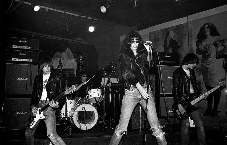 Ramones por Ebet Roberts