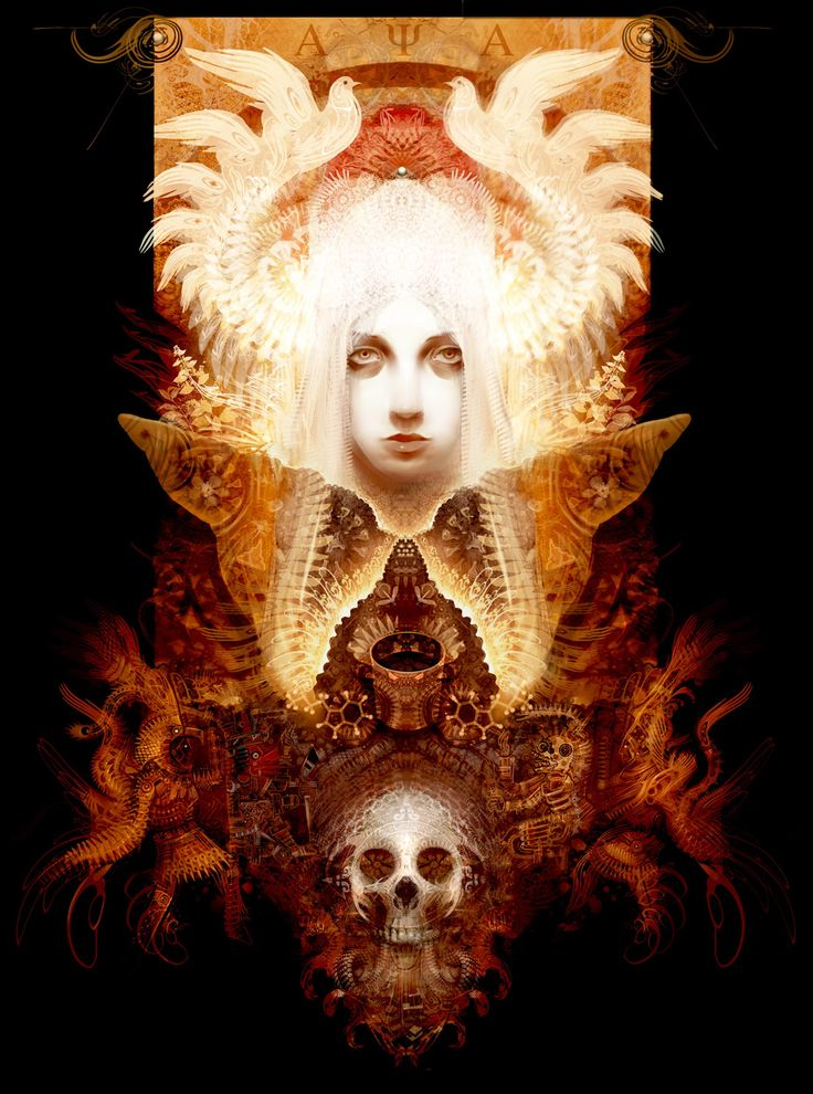 Divine Mother Ayahuasca by Andrew 'Android' Jones