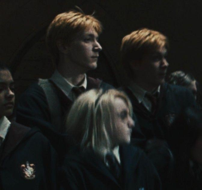 Weasley Fredweasley Georgeweasley Harrypotter Weasley Twins Fred And George Weasley Harry Potter Actors