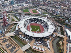 Olympic Stadium - home of the London 2012 Olympics and Paralympics
