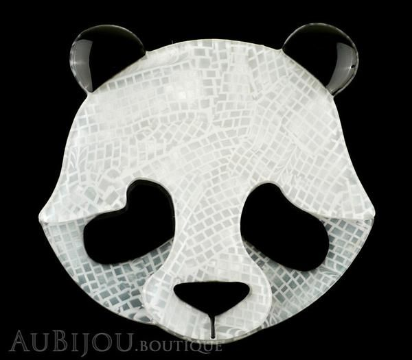 Erstwilder Brooch Pin Pepita the Polite Panda Gallery