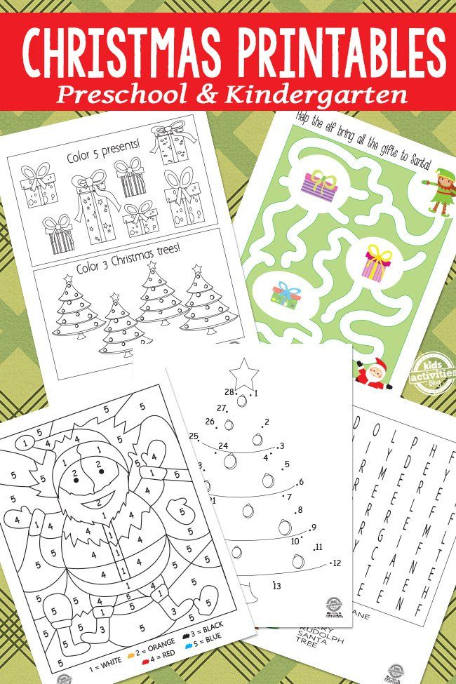 Christmas Printables for Kids. Word searches, mazes, color by numbers... could bind this together and make an activity book for a family trip.