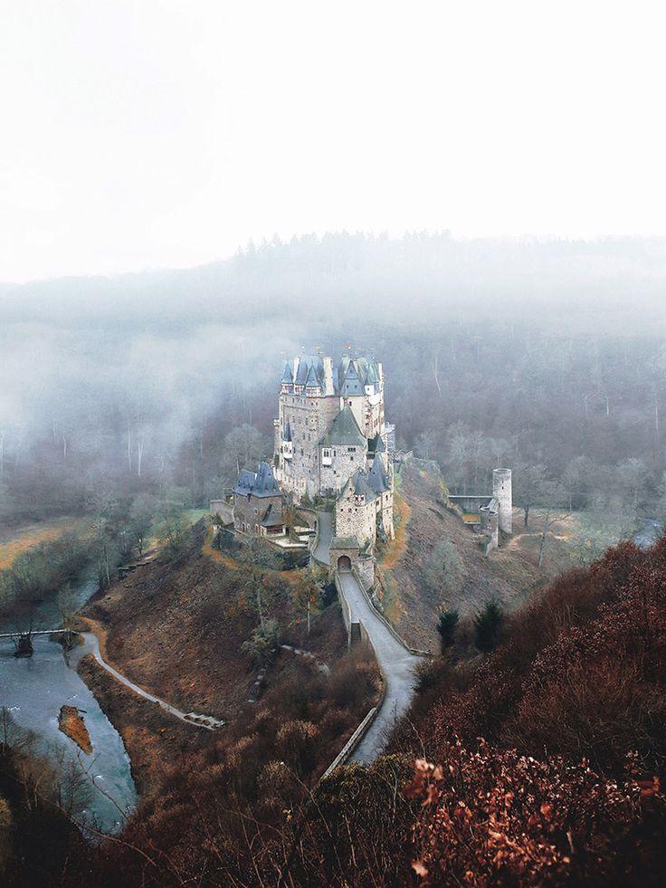 Castle Eltz in Germany, Eifel National Park