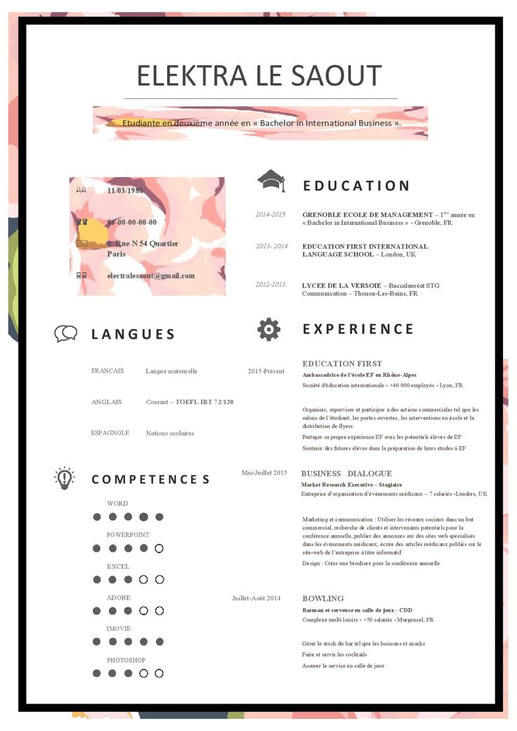 77 best modern and innovative professional resumes cv images on