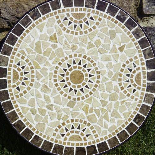 mosaic pattern. Para hacer una mesa