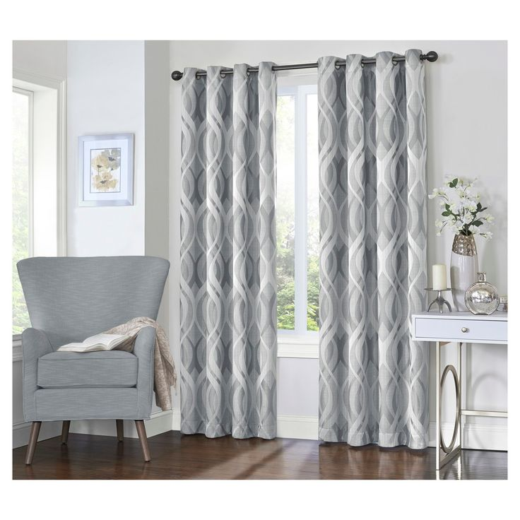 25 best ideas about grey blackout curtains on pinterest grey home curtains high curtains and. Black Bedroom Furniture Sets. Home Design Ideas