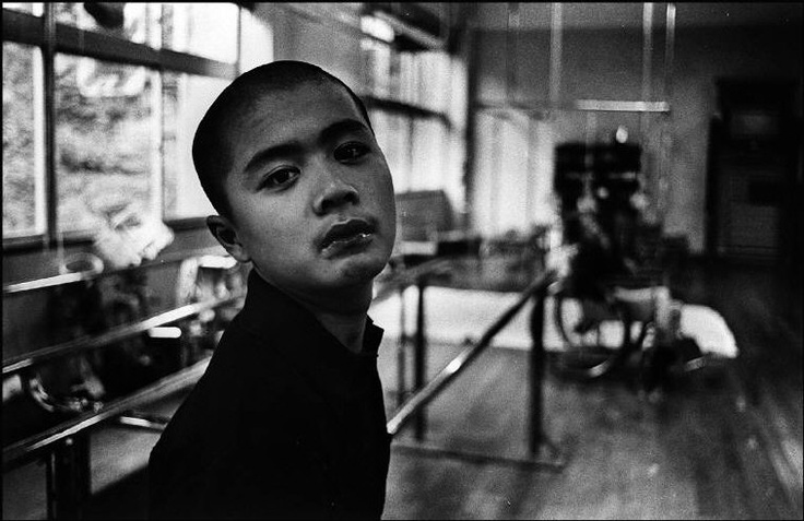 W. Eugene SMITH ::  Isamu Nagai at the Minamata Institute for the victims of the Minamata disease, Japan, 1971