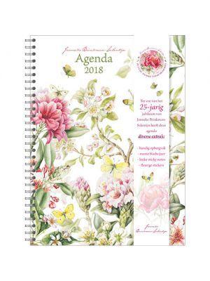 Bureau-agenda jubileumeditie BLOESEM 2018 van Janneke Brinkman-Salentijn. Nu te koop in de https://www.jannekebrinkmanshop.com/