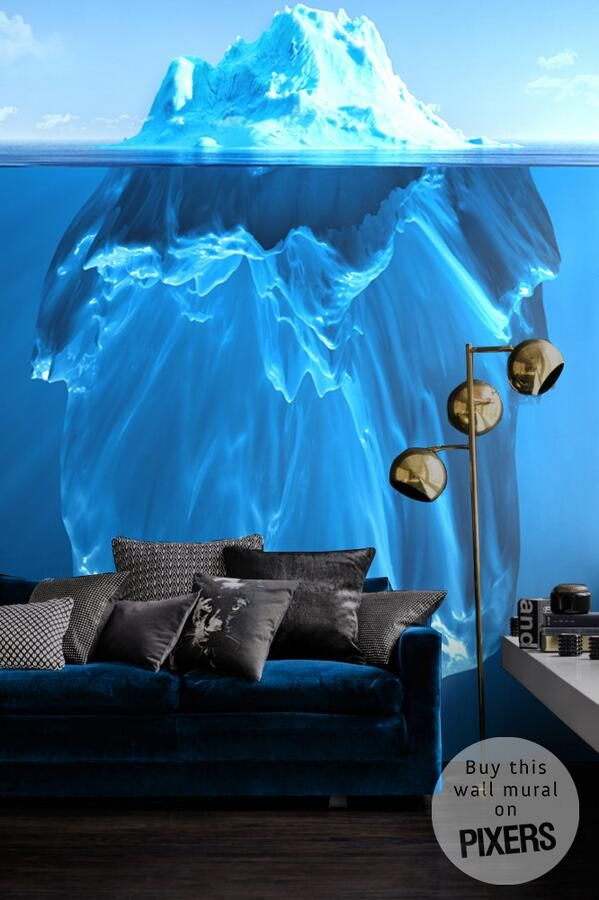 Wall murals can transform any space into a spectacular wonderland. #interiordesign #decor #home