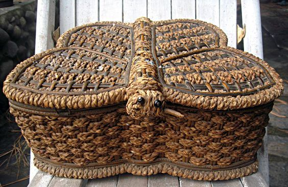 44 best wicker baskets images on pinterest wicker baskets baskets and wicker. Black Bedroom Furniture Sets. Home Design Ideas