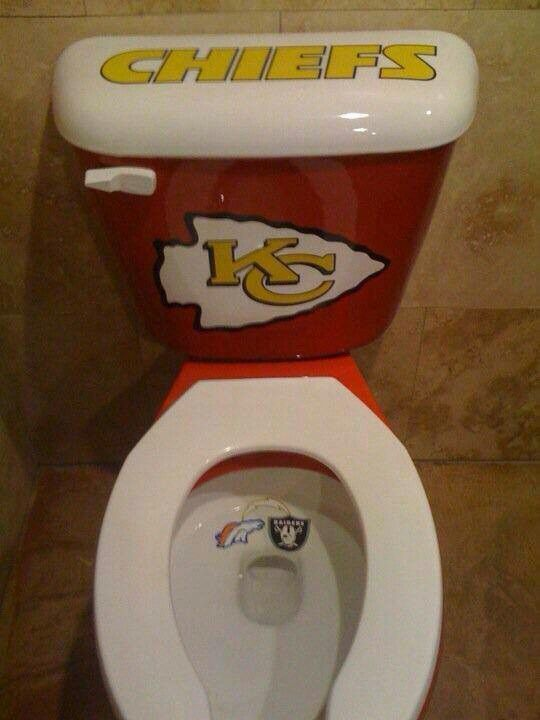 This just might be my new toilet!! #chiefs #KansasCity #KC #football
