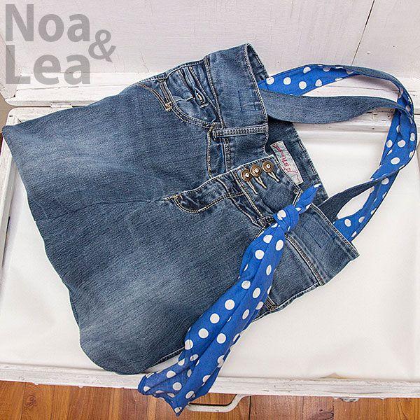 Torba Upcykling, Torba ze spodni, Torba z jeansów  http://noa-lea.pl/index.php/pl/sklep/sklep-torby/33-torba-upcykling-jeansowa-bawelniania-ze-spodni