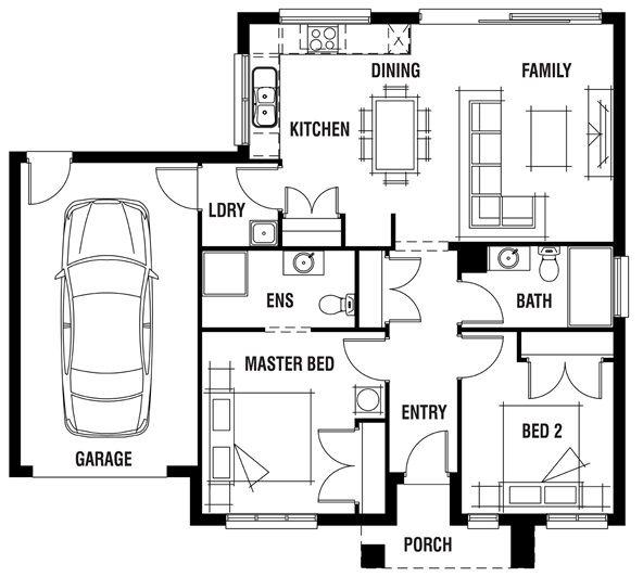 40 by 36 house design renmark porter davis homes