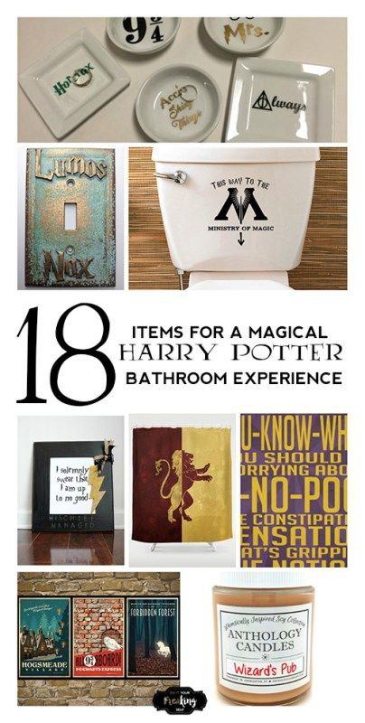 18 Items for a Magical Harry Potter Bathroom – Harry Potter