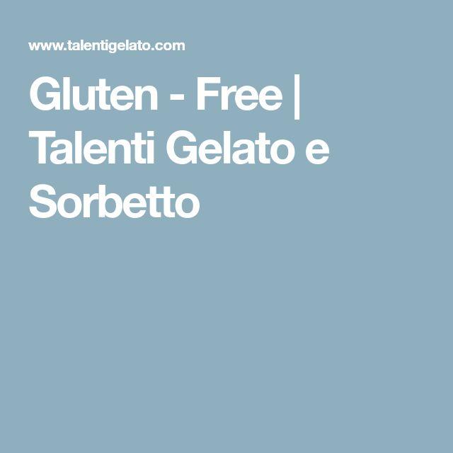 Gluten - Free | Talenti Gelato e Sorbetto