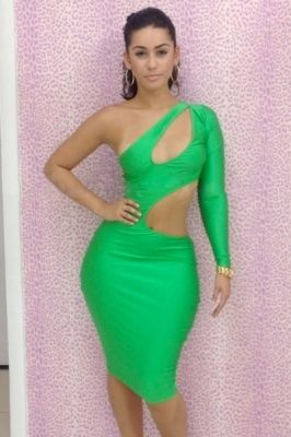 Beauty Green Designs One Shoulder And Hollowed-Out #Dress Online at http://www.feelingirls.com/Beauty-Green-Designs-One-Shoulder-And-Hollowed-Out-Dress-p487.html Only US$ 3.78 Lowest Price! Shipping Worldwide.