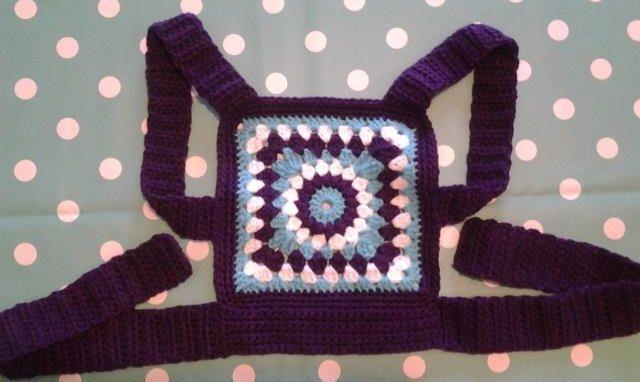 crochet baby doll sling carrier mei tai