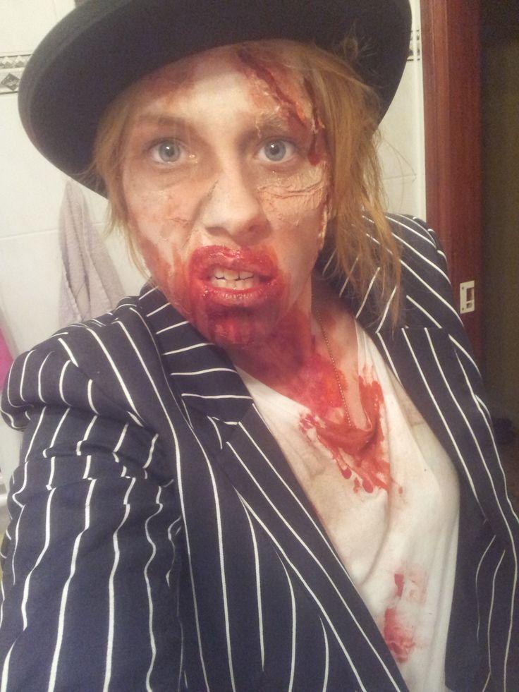 Zombie Boy - he died on his wedding! ^^ #groom #Bräutigam #Zombie #makeup #blood #costume #kostüm #wedding #halloween #deadgirl #zombie #horrornacht #horrornächte #makeup #costume #kostüm #red #page #blood #bloodyeye #blutigesauge #Aufe #eye #witheeye #weißesauge #contactlenses #Kontaktlinsen