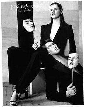 Yves Saint Laurent Rive Gauche featuring Stella Tennant and Ivan de Pineda.