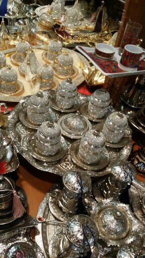 Coffee set at the Grand bazaar
