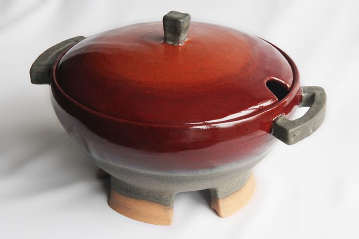 Stoneware Soup Tureen/Casserole/Serving Dish - Contemporary Design,Handmade,Ceramics and Pottery,Home Decor,Art,by Iwona Dufaj,Ready to Ship by IDInfusionStoneware on Etsy https://www.etsy.com/listing/251244802/stoneware-soup-tureencasseroleserving
