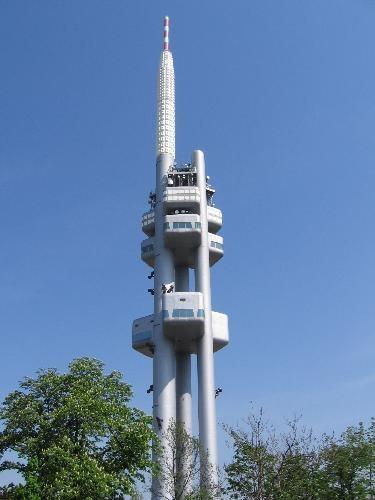 Zizkov TV tower, Prague