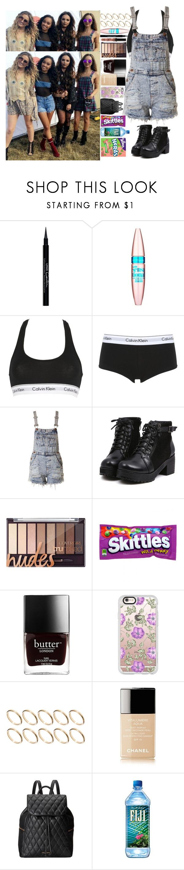 """V Fest with Little Mix"" by kellymartinezx ❤ liked on Polyvore featuring Givenchy, Maybelline, Calvin Klein Underwear, Casetify, ASOS, Chanel, Vera Bradley and River Island"