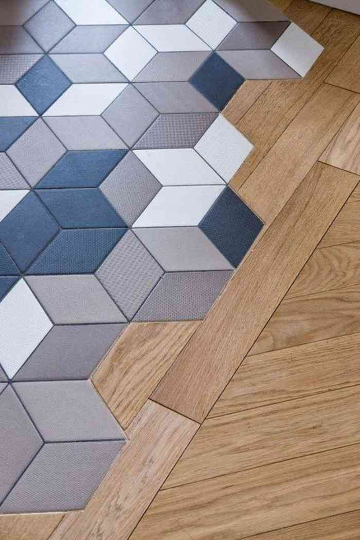 The Ultimate Guide To Kitchen Flooring Ideas And Materials Flooring Tile To Wood Transition Decor