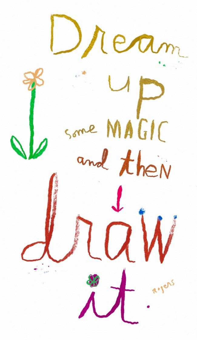 dream up and draw it